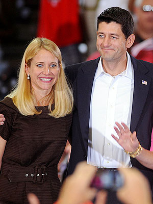 Paul Ryan, Mitt Romney and their Wives Open Up to PEOPLE