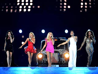 Spice Girls, One Direction Bring Olympics to a Dazzling End | Spice Girls