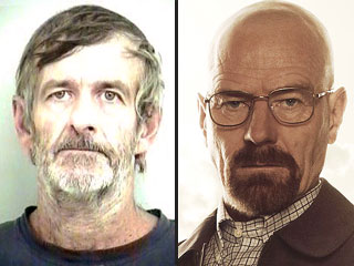 Real Life Breaking Bad Walter White Arrested for Meth