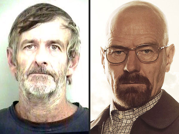 Walter Eddy White Arrested for Meth, Shares Name with Breaking Bad Character