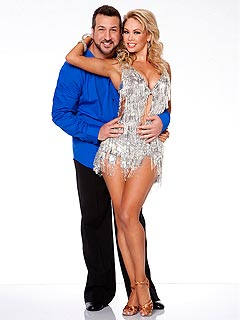 Which DWTS Star Does Joey Fatone & Kym Johnson Want to Beat Most? | Joey Fatone, Kym Johnson