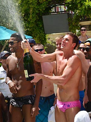Ryan Lochte 'Always Looking' for the Perfect Girl| Las Vegas, Ryan Lochte, Lavo, Tao