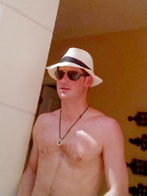 Prince Harry Naked Partying Photos Emerge