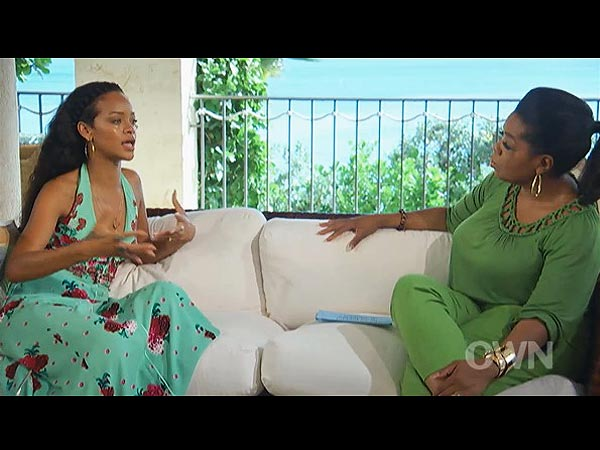 Rihanna Loves Chris Brown, She Tells Oprah