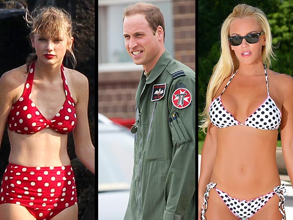 Taylor's in Love, Will Saves a Life, Jenny Hits Sin City (in a Bikini) & More! | Jenny McCarthy, Prince William, Taylor Swift
