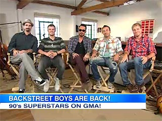Backstreet Boys Reunite for First Time Since 2006