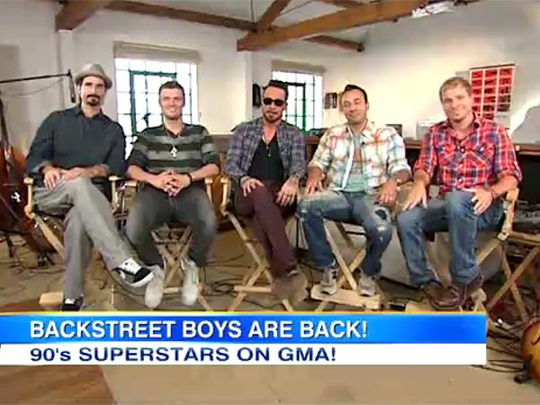Backstreet Boys Reunite on Good Morning America