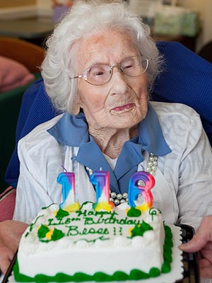 World's Oldest Woman, Besse Cooper, Turns 116