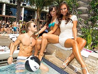 Derek Hough, Karina Smirnoff & Cheryl Burke Show Off Hard Bodies in Vegas | Derek Hough, Karina Smirnoff