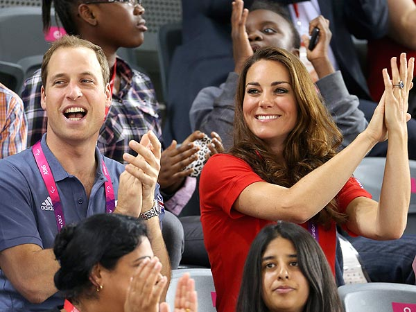 Prince William, Kate All Smiles at Paralympic Games
