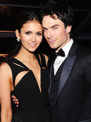Nina Dobrev Tried to Fight Her Feelings for Costar Ian Somerhalder| Couples, The Vampire Diaries, Ian Somerhalder, Nina Dobrev