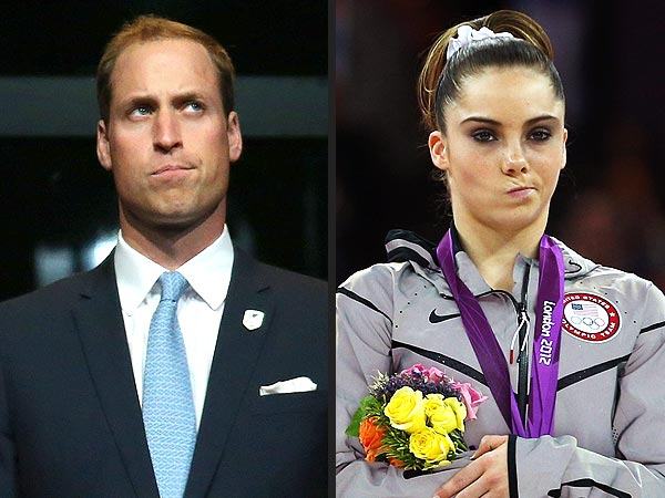Prince William Pulls a McKayla Maroney Facial Expression