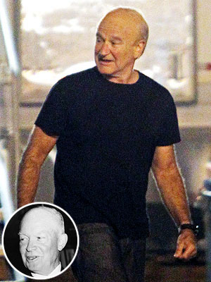 Robin Williams Plays Dwight Eisenhower in The Butler: Pictures