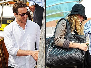 PHOTO: Ryan Reynolds & Blake Lively Arrive at Venice Film Fest | Blake Lively, Ryan Reynolds