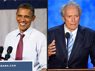 President Obama Says He&#39;s a &#39;Huge Fan&#39; of Clint Eastwood | Clint Eastwood, Barack Obama