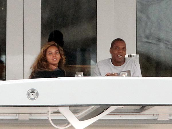 Beyoncé Celebrates Her Birthday on Yacht with Blue Ivy and Jay-Z| Babies, Couples, Loving Couples, Birthday, Beyonce Knowles, Jay-Z