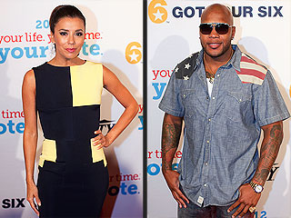 Eva Longoria & Flo Rida's Democratic Night Together in Charlotte