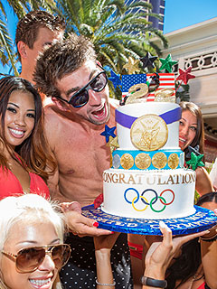 Michael Phelps Celebrates Retirement with Sin City Pool Party | Michael Phelps