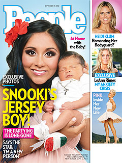 Snooki Goes Tanning for First Time Since Pregnancy | Nicole Polizzi
