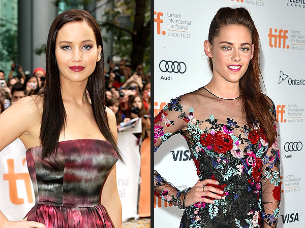 Kristen Stewart, Jennifer Lawrence Meet at Toronto Film Festival