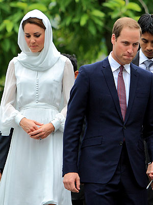 William & Kate Win French Ruling