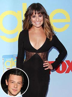 Lea Michele Gushes About Working with Boyfriend Cory Monteith | Lea Michele