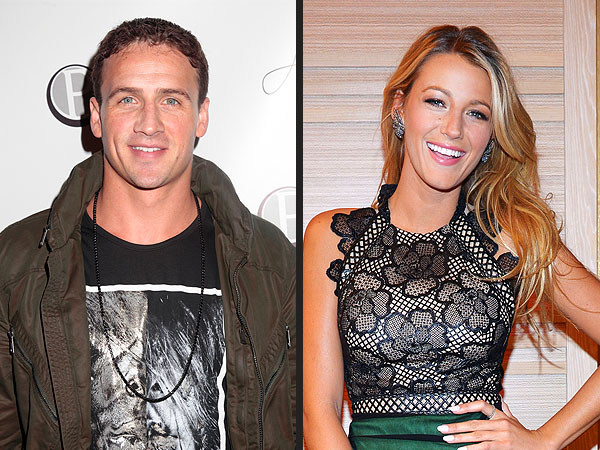 Blake Lively Dating Ryan Reynolds - But Ryan Lochte Has Crush on Her