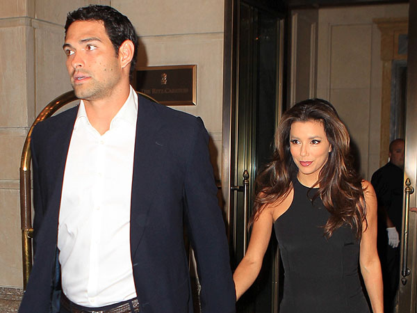 Eva Longoria & Mark Sanchez's Cheesecake Date in N.J.