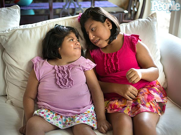 Formerly Conjoined Twins Josie and Teresa Live with Different Families, But Stay Bonded Through Love
