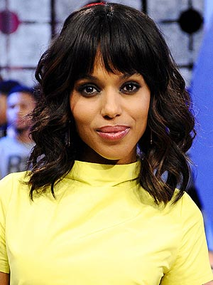 Kerry Washington Talks Season 2 of Scandal; Running for Office