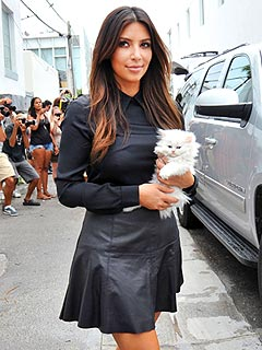 Kim Kardashian: I Hope I'm Not Becoming a Cat Lady! | Kim Kardashian