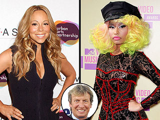 Idol Producer: Mariah Carey & Nicki Minaj 'Collide ... in a Good Way' | Mariah Carey, Nicki Minaj, Nigel Lythgoe