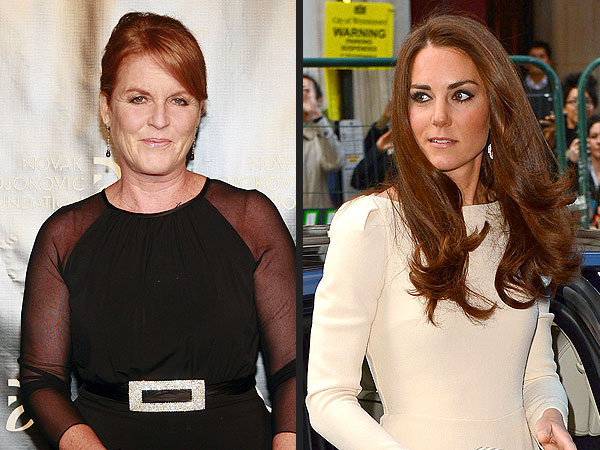 Duchess Sarah Ferguson on Kate Middleton Photo Scandal