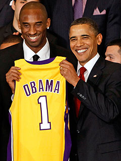 Kobe Bryant: President Obama Talks Trash on the Basketball Court
