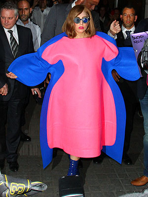 Lady Gaga Shows Off Curvy Figure in Paris| Health, Bodywatch, Lady Gaga