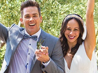 PHOTO: Mark McGrath & Carin Kingsland on Their Wedding Day