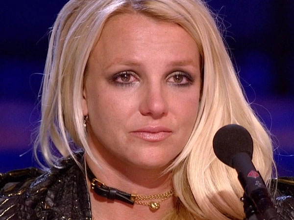 Britney Spears Breaks Down in Tears on The X Factor