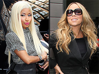 It's On! Nicki Minaj Curses at Mariah Carey on Set of Idol | Mariah Carey, Nicki Minaj