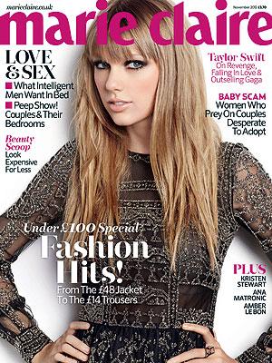 Taylor Swift Talks Dating, Love in the U.K. Edition of Marie Claire