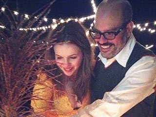 PHOTOS: Blake & Ryan Attend Amber Tamblyn's Wedding | Amber Tamblyn, David Cross