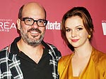 See Amber Tamblyn's Yellow Wedding Gown | Amber Tamblyn, David Cross