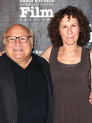 Danny DeVito, Rhea Perlman Separate