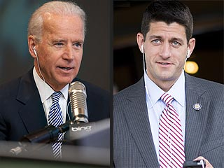 What's on Joe Biden and Paul Ryan's Playlists?