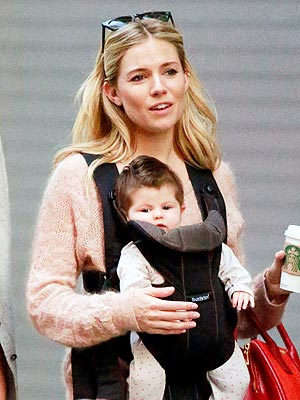 spotted sienna miller and marlowe�s new york minute
