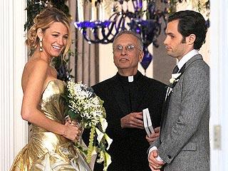 Blake Lively Makes a Lovely TV Bride | Blake Lively, Penn Badgley