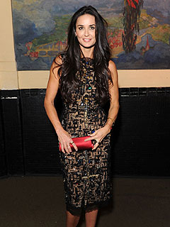 PHOTO: Demi Moore Steps Out Smiling at Charity Event in N.Y.C. | Demi Moore