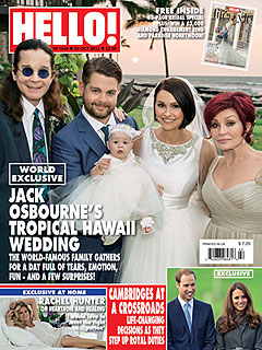 See Jack Osbourne's Wedding Photo | Jack Osbourne