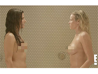 Sandra Bullock Gets Naked in Shower Scene with Chelsea Handler | Chelsea Handler, Sandra Bullock