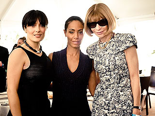 Stars Fete Michelle Obama at Fundraising Lunch | Anna Wintour, Jada Pinkett Smith, Salma Hayek