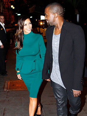 Kim Kardashian Pregnant Kanye West Reveals